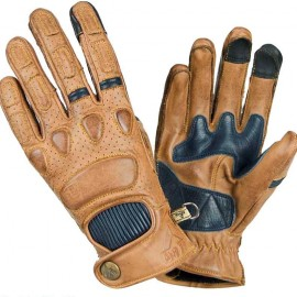 GUANTES BY CITY PILOT MOSTAZA/AZUL