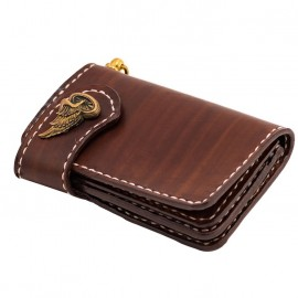 70S WALLET SHORTY FLAT BROWN