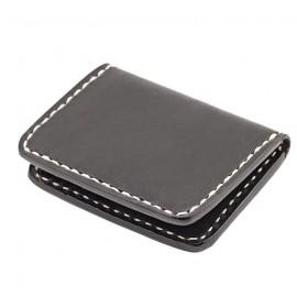 70S WALLET BLACK FLAT POCKET CREDIT CARD HOLDER