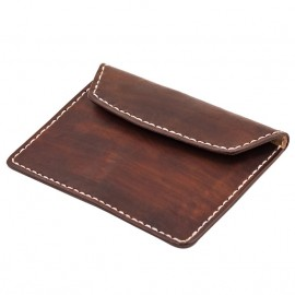 CARTERA 70S MARRON FLAT BIKE DOCUMENT HOLDER