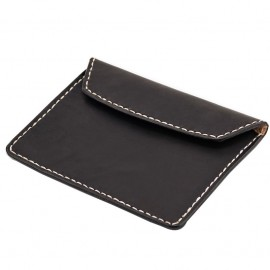 CARTERA 70S NEGRA FLAT BIKE DOCUMENT HOLDER