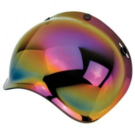 Pantalla burbuja arco iris efecto espejo Biltwell frontal