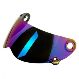 Pantalla casco biltwell lane splitter espejo arcoiris