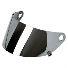 Pantalla Biltwell Gringo S Flat Chrome Mirror