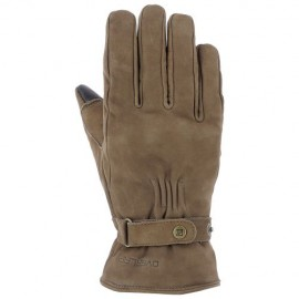 GUANTES OVERLAP LONDON BROWN (ACOLCHADOS)