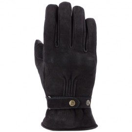 GUANTES OVERLAP LONDON BLACK (ACOLCHADOS)