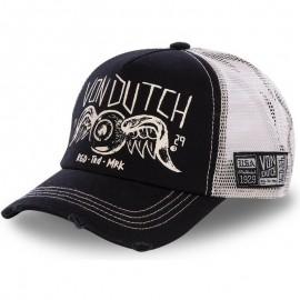 VON DUTCH CREW4 TRUCKER CAP BLACK