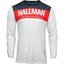 THOR HALLMAN TAPD AIR RED/WHITE/BLUE JERSEY