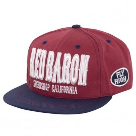 GORRA KING KEROSIN RED BARON CAP RED/BLUE