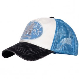 GORRA KING KEROSIN RIDE OR SIT TRUCKER CAP BLUE/WHITE/BLACK
