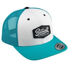 BILTWELL PARTS SNAPBACK CAP TEAL/WHITE/BLACK