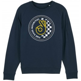 OK BASIC CIRCLE NAVY SWEATSHIRT