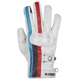 GUANTES HELSTONS BURTON WHITE BLUE RED