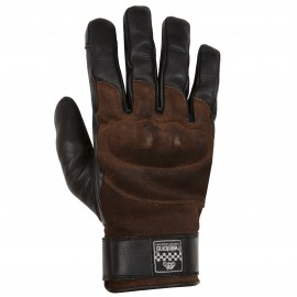 HELSTONSGLORY HIVER GLOVES BLACK BROWN