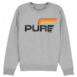 SUDADERA LOGO STRIPES 2 GREY