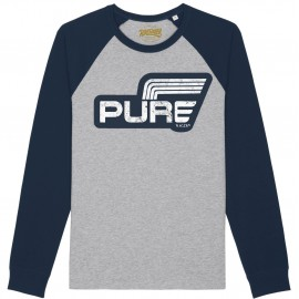 LOGO STRIPES GREY NAVY JERSEY