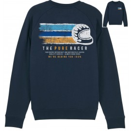 FLAG HELMET NAVY SWEATSHIRT