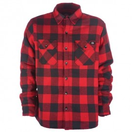 DICKIES LANSDALE OVERSHIRT RED