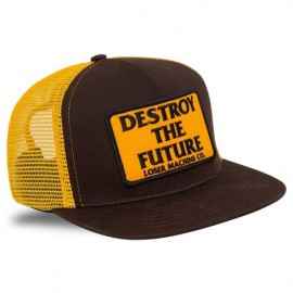 GORRA LOSER MACHINE DESTROY TRUCKER CAP BROWN/GOLD
