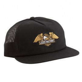 GORRA LOSER MACHINE WINGS TRUCKER CAP BLACK