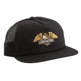LOSER MACHINE WINGS TRUCKER CAP BLACK