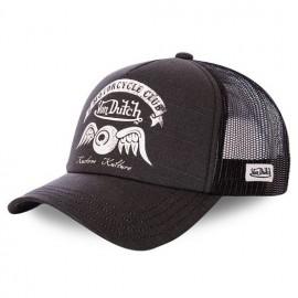 GORRA VON DUTCH TRUCKER CAP CREW8 BLACK