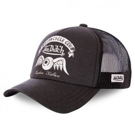 GORRA VON DUTCH TRUCKER CAP CREW8 BLACK
