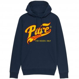 PURERACER PURE FLAMES BLUE NAVY HOODIE