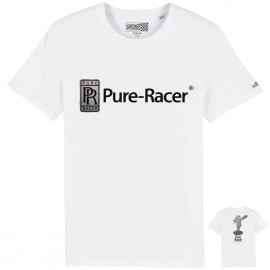 PURERACER WITH CLASS WHITE T-SHIRT