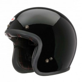 Casco Bell custom 500 Negro brillo