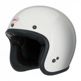 Casco Bell custom 500 Blanco brillo