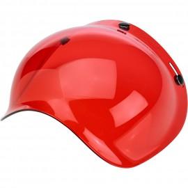 Pantalla burbuja roja Biltwell lateral