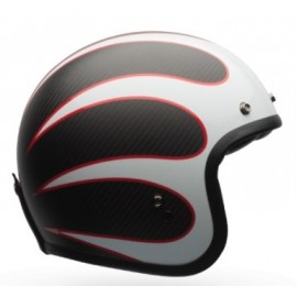 Casco Bell Custom 500 carbono Ace Cafe Tonup