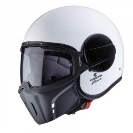 Casco Caberg Ghost blanco brillo
