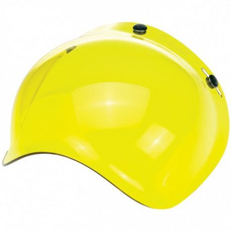 Pantalla burbuja amarillo Biltwell lateral