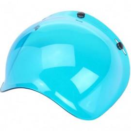 Pantalla burbuja azul Biltwell frontal