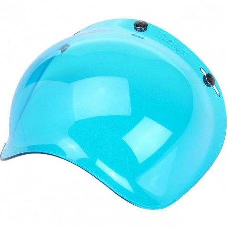 Pantalla burbuja azul Biltwell lateral