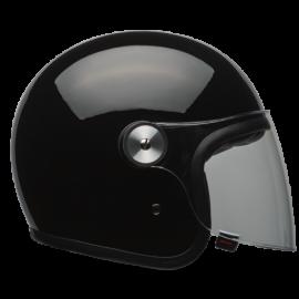 casco Bell Riot negro brillo