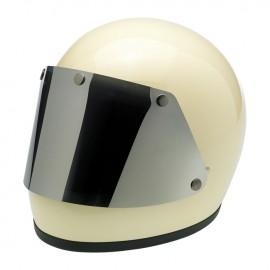 Pantalla plana cromada para casco gringo de xs a m