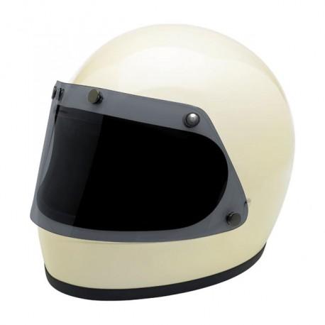Pantalla plana ahumada para casco gringo de xs a m