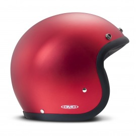 casco DMD vintage metalic red