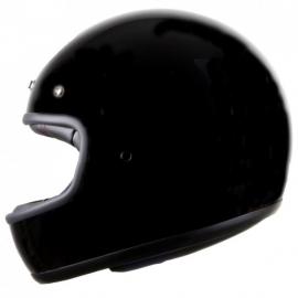 "casco Iguana custom ""el villano"" (Homologado) negro brillo"