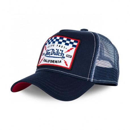 GORRA VON DUTCH BASEBALL CAP SQUARE BLUE