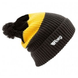 GORRO ROEG AVERELL POM KNIT BEANIE BLACK/YELLOW/ANTHRACITE