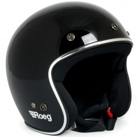 CASCO ROEG JETT HELMET GLOSS BLACK