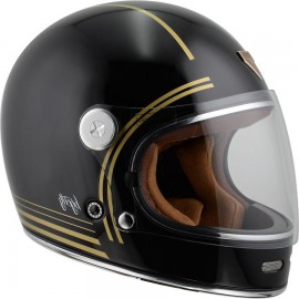 CASCO BY CITY ROADSTER NEGRO BRILLO