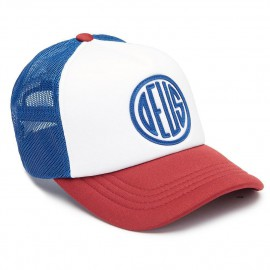 GORRA DEUS PILL TRUCKER RED-BLUE-WHITE