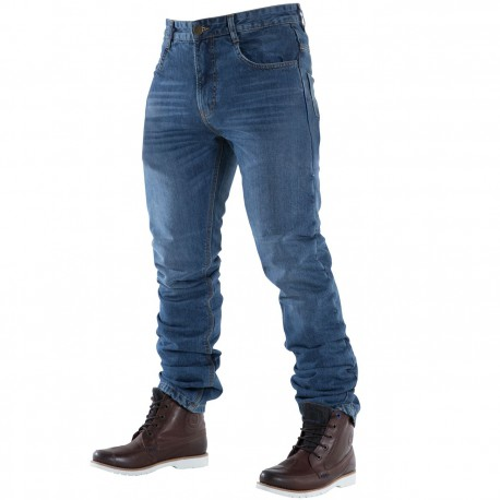 JEANS OVERLAP MANX SMALT ( CORTE REGULAR)