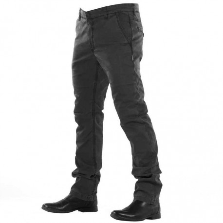 PANTALONES OVERLAP CHINO BLACK ( CORTE REGULAR)