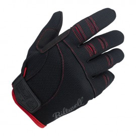 GUANTES BILTWELL MOTO GLOVES BLACK/RED